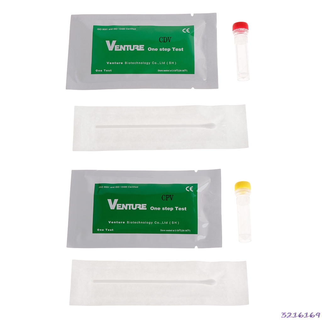 Pet Test Paper Canine Home Health Detection Distemper Parvovirus Virus CDV/CPV