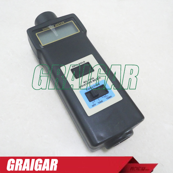 MC7806 Wood Moisture Meter Detector Tester MC-7806 Thermometer Paper 50% (Wood to soil)PIN portable pin type wood moisture meter mc7806