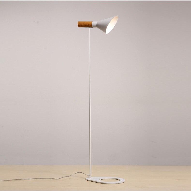 Simple Modern Iron Floor Lamp Modern Floor Lamp Sofa Living Room Study Office Vertical Floor Lamp FG425
