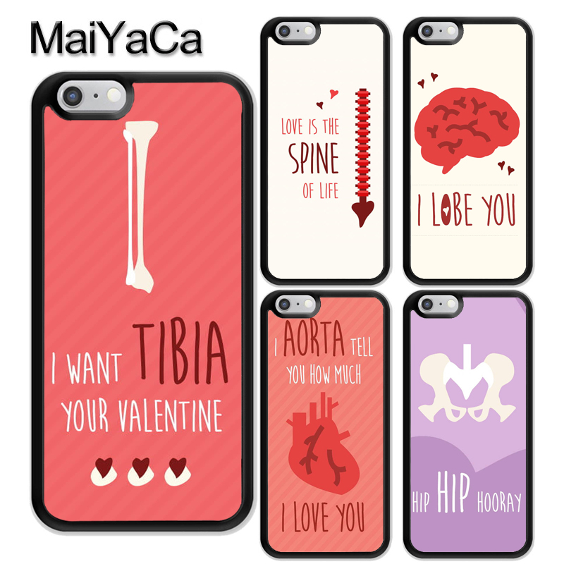 Maiyaca Spain Cartoon Medicine Doctor Nurse For Iphone 4s 5c 5s 6s Plus X Xr Xs Max Phone Cases Transparent Soft Tpu Cover Cases Phone Bags & Cases