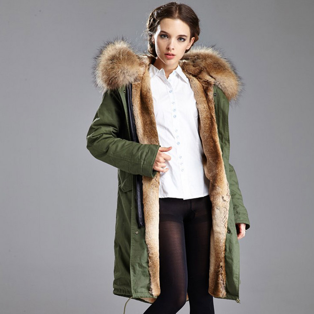 Aliexpress.com : Buy Women's Parka Winter Long Hooded Coat Women ...