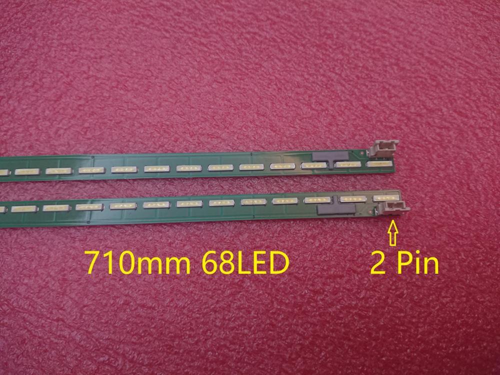 New 2 PCS*68LED 710mm LED Backlight Strip For LG 65UH6030 6922L-0143A 6916L2305A 6916L2306A