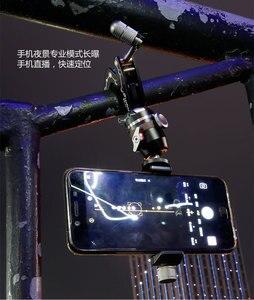 Image 4 - Telefon Reise Clamp Kits mit Gehen Überall Clamp, micro kugelkopf und handy stativ für iphone smartphone phonegrapher