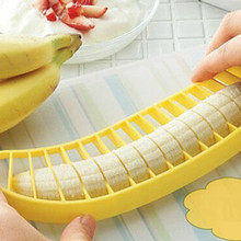 Dropshipping Practical Banana Cutter Fruit Slicer Chopper Ch