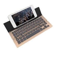 Ultra-slim   New F18 Foldable Aluminum Alloy Bluetooth Keyboard For Samsung Tablets 17Nove24