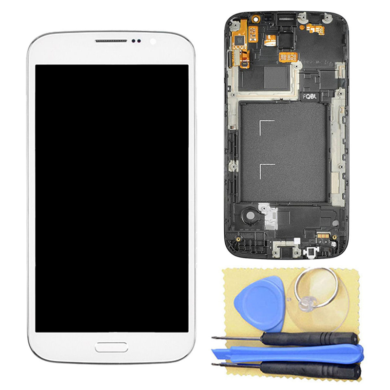 ФОТО LCD Display Touch Screen Digitizer+Frame for Samsung Galaxy Mega 5.8 i9150 i9152