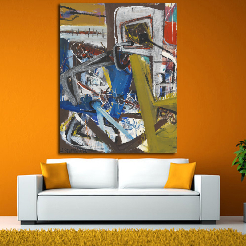 Online Buy Wholesale realistic abstract paintings from