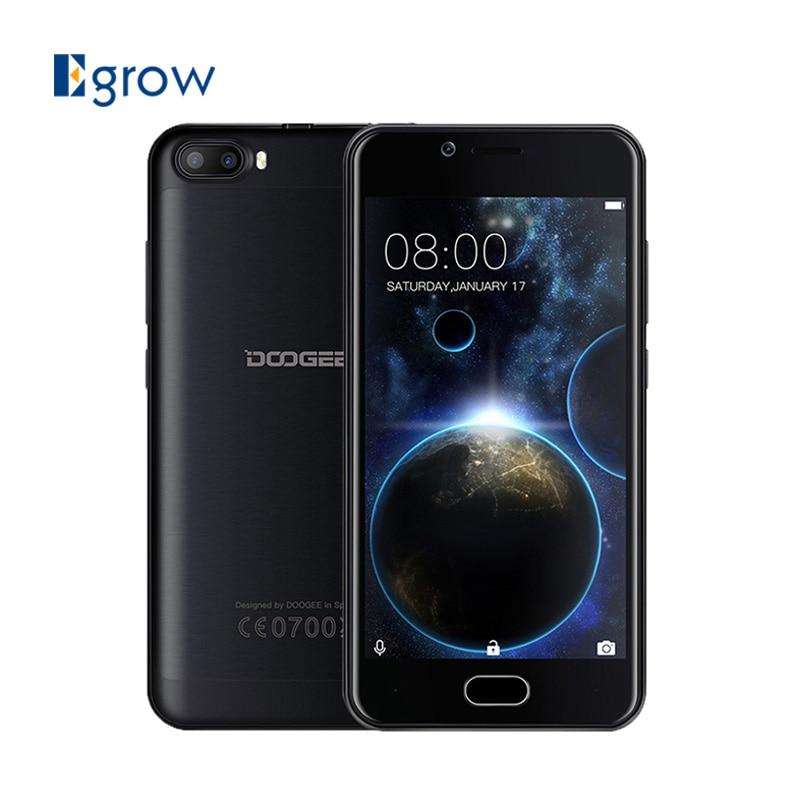 bilder für Doogee schießen 2 dual-kamera handy 5,0 zoll hd mtk6580a quad Core Android 7.0 Dual SIM 1 GB RAM 8 GB ROM 3360 mAH Handys