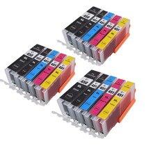 15 шт. PGI-450 451 совместимый чернильный картридж для принтера canon принтерам PIXMA IP7240 MG5440 MG5540 MG6440 MG6640 MG5640 MX924 MX724 IX6840 принтер