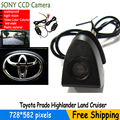 wireless sony ccd  Car Front View Logo  Camera For Toyota Prado Highlander Land Cruis 4 runner camry ... Waterproof IP68