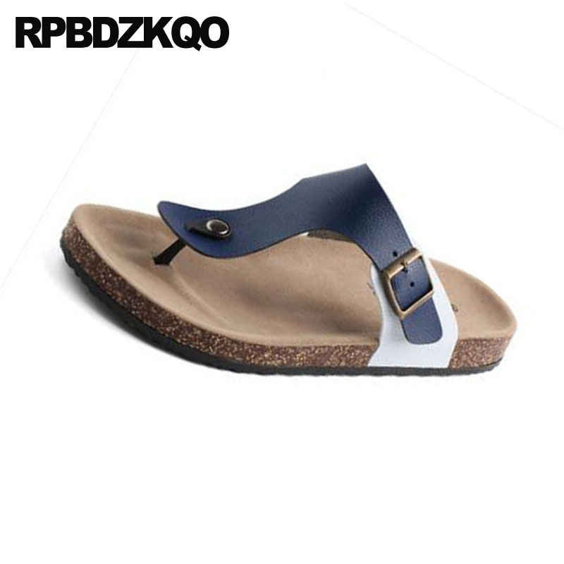 Slip On Sandalias Diseñador para aire Slides al Flat hombre 2018 libre Verano 0wnOkP
