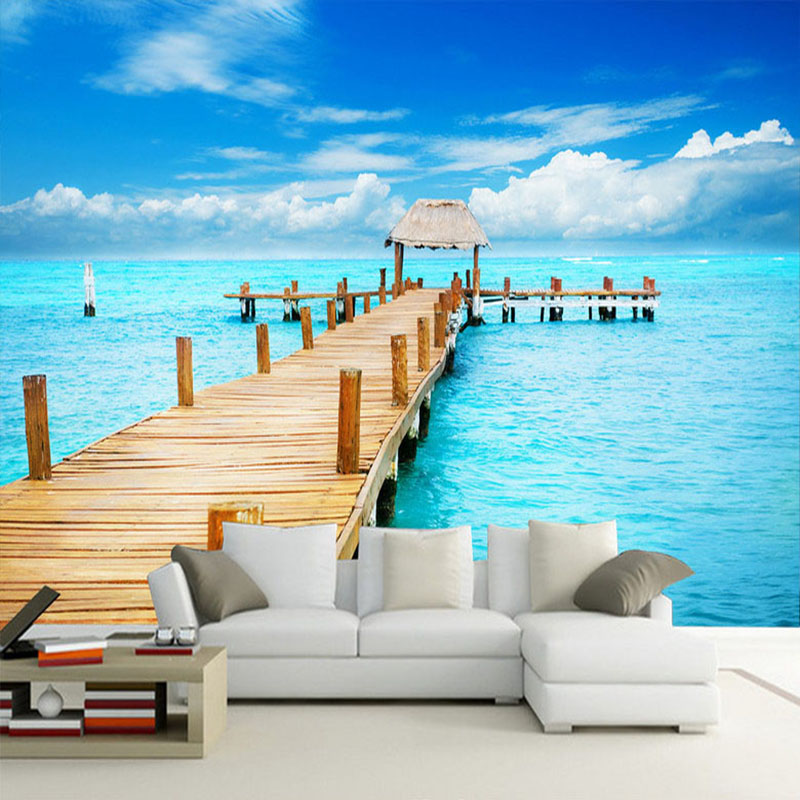 60 pemandangan pantai sederhana HD