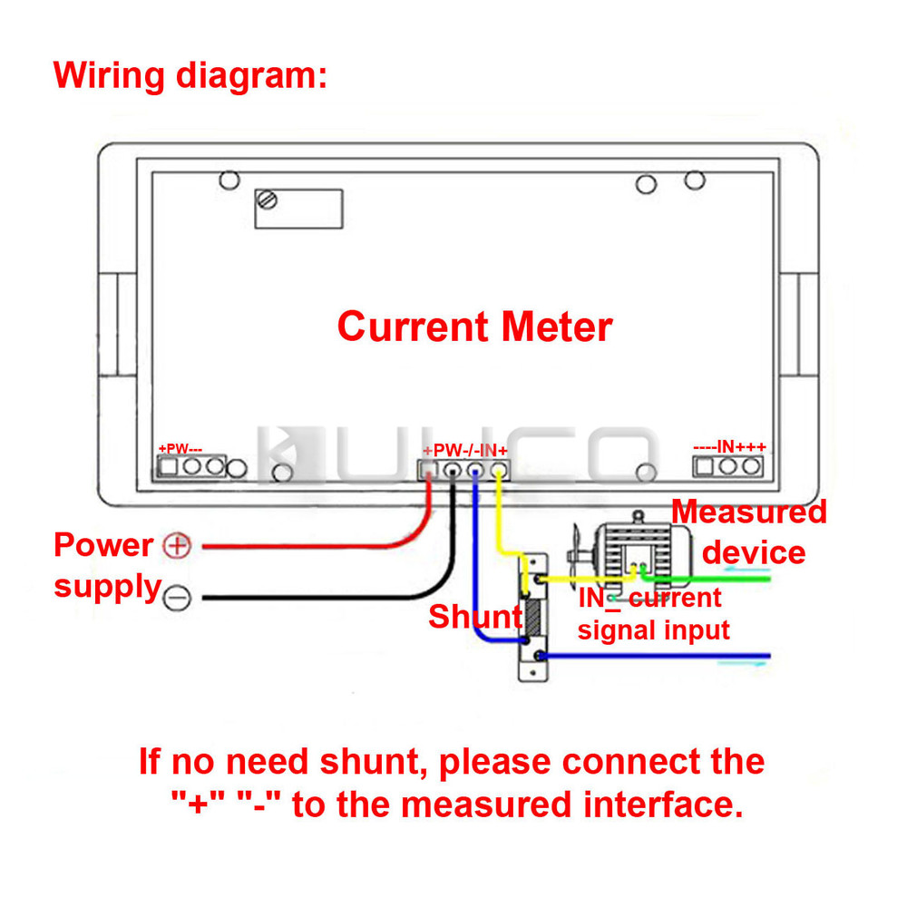 Digital Volt Amp Meter Wiring Dc Ampere Diagram Wire Data Schema 12v House Symbols U2022 Rh Maxturner Co Ampmeter Circuit 200 Base