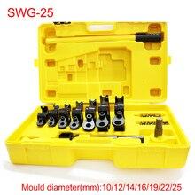 SWG 25 Manual pipe and tube bending machine Hand tube bender U bending tools iron steel