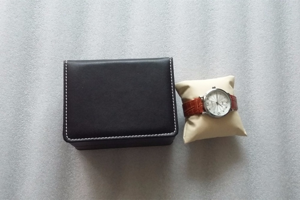 Caja de almacenamiento de reloj de cuero de PU al por mayor Caja de - Accesorios para relojes - foto 4