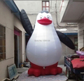 3m H Giant Balloon Inflatable  Penguins of Madagascar For Advertising