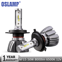 H4 H7 H11 H13 9005 HB3 9006 HB4 LED Car Headlight Single Hi Lo Beam CSP