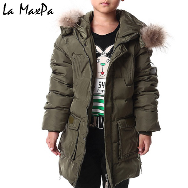 2018 Winter boy Down jackets coat long model BABY warm Coats thick duck down Warm jacket Children Outerwear down coats winter brand 2017 new men down jacket coats long coats dress jackets western style overcoats thick warm duck down parkas