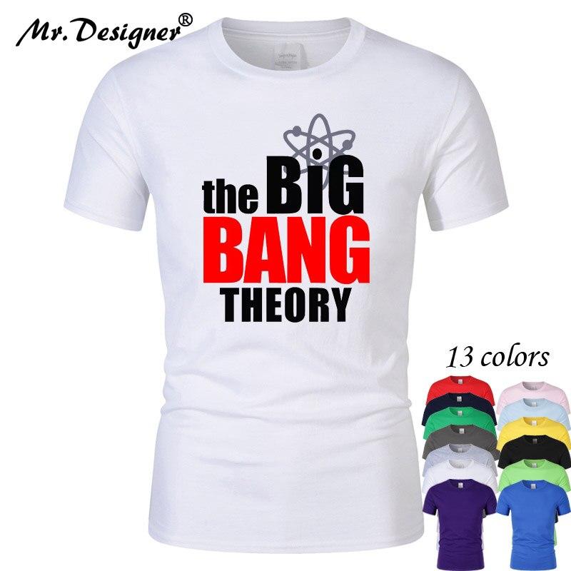 Moda nowy Sheldon Cooper Penny mężczyzna T koszula lato z krótkim rękawem koszulka teoria wielkiego podrywu bawełna Cooper Logo mężczyźni t-shirt topy