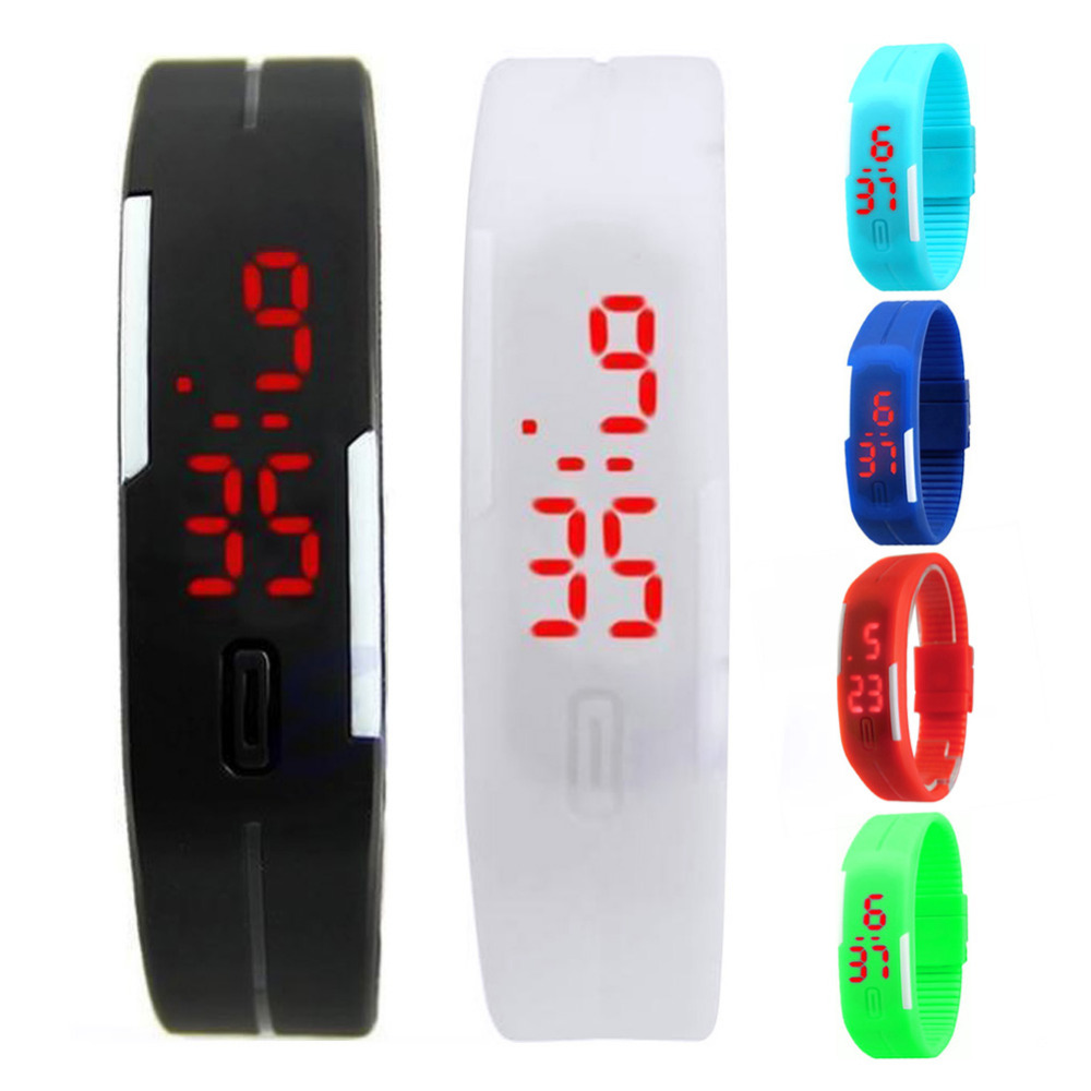 Digital Watch Men Womens Bracelet Led Watches Sport Men Watch Military Kids Electronic Clock Relogio Masculino Saat