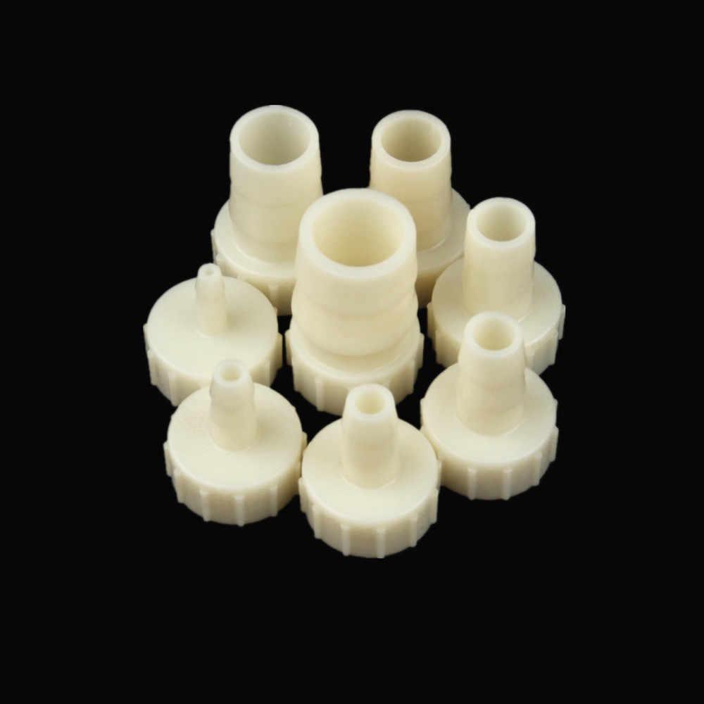 """G1/2 """"filettatura Interna pagoda tubo di Plastica connettore Parti del Sistema di irrigazione Micro Acquario pompa di Aria Connettore Con Guarnizione anello"""