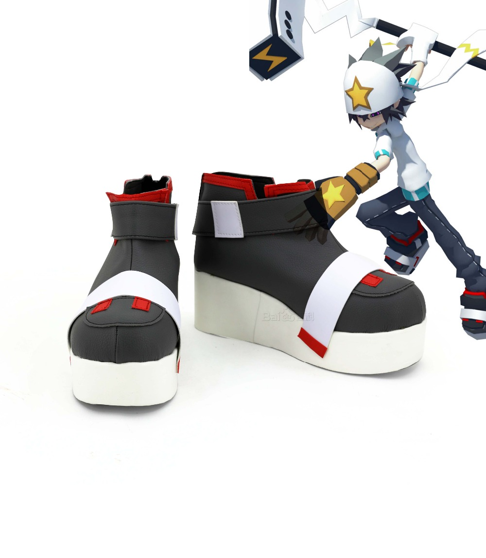 2017 Hot Sale AOTU Lei Shi Cosplay Shoes Boots For Halloween Carnival Christmas Women Men