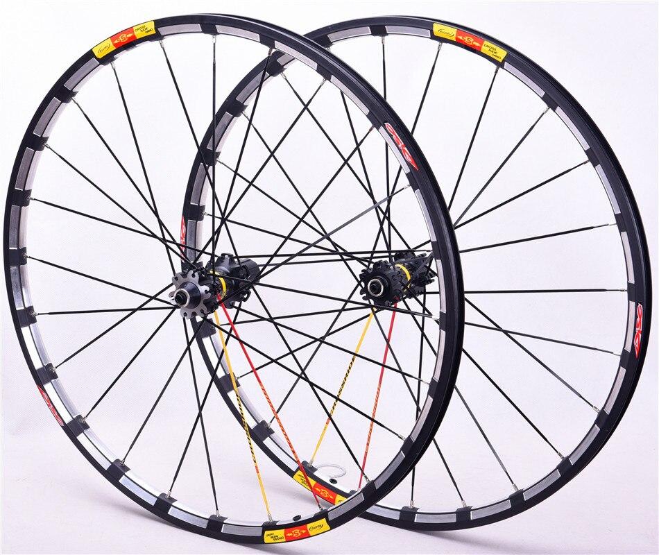 Rolamento de rolamento para bicicleta mtb, seis furos, disco de carbono para crossride, hub de flor, mountain bike rodas de disco 26 27.5 29
