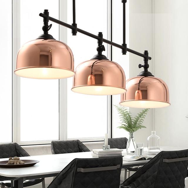Creatieve ijzer lampen fijne eetkamer verlichting 3 dining for Moderne verlichting eetkamer