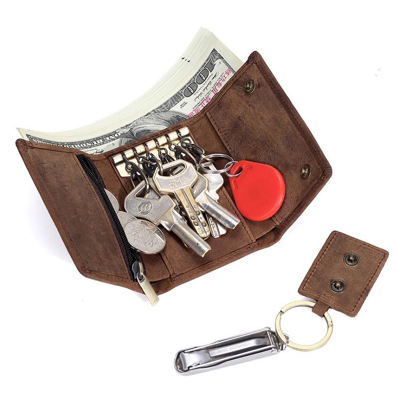 Cobbler Legend Mini Wallets Men Keychain Men's Wallets