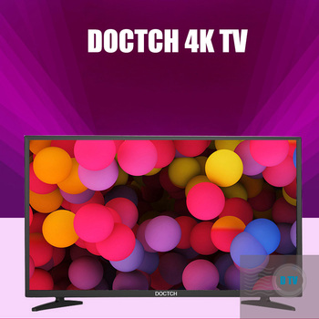 DOCTCH original 4K HD  Network TV Support HDMI bluetooth WIFI with remote control for learning Home entertainment game