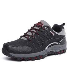 Autumn Winter Men&women Hiking Shoes Outdoor Sport Shoes Anti Slip Sneakers Wear-resistant Tactics Camping Trekking Shoes