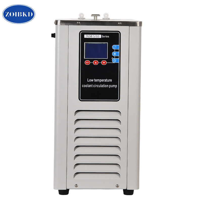 Small Capacity Lab Low Temp Cooling Liquid Circulation Pump 5L Lab Recirculating Chiller Cycling Liquid Cooling Pump 520w cooling capacity fridge compressor r134a suitable for supermaket cooling equipment