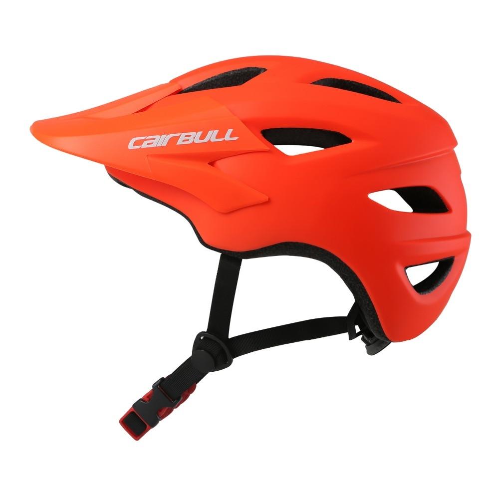 Cairbull SUPERCROSS Ultra-light Bicycle Helmet with Visor shield 2018 White/orange/black/blue/green/grey AM/XC/OFF-ROAD cycling стоимость