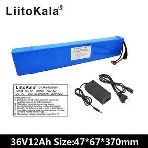 Image 2 - LiitoKala 36V 12Ah 500W Cao Cấp & Dung tích 42V 18650 lithium pin Ebike xe điện xe đạp động cơ xe tay ga với BMS