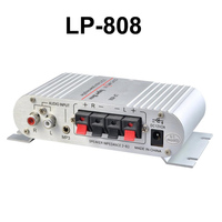 2 0 Channel 2X20W RMS Output Power Amplifier Mini Hi Fi Audio Stereo Amplifier Computer MP3