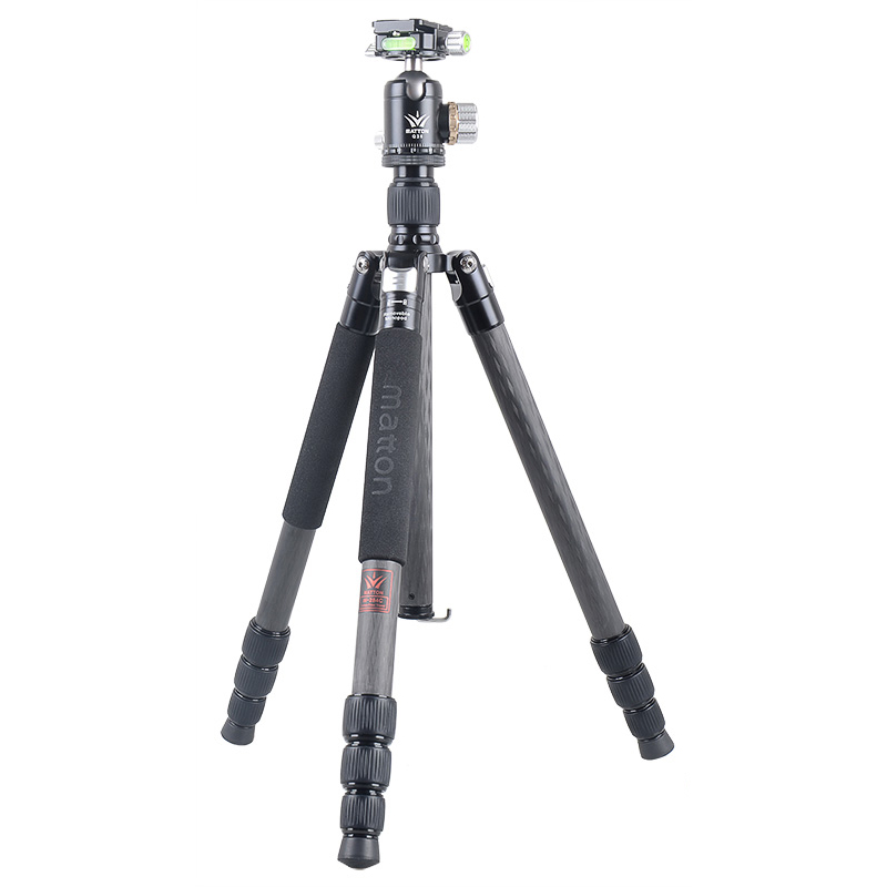 Matton W 284C Q36 Pro Carbon Fiber Tripod Professional Camcorder Video Camera DSLR Tripod Stand