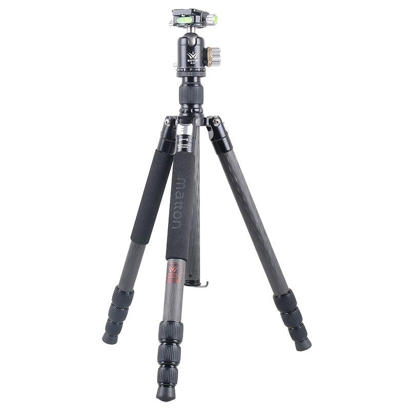 Matton W-284C + Q36 Pro In Fibra di Carbonio Treppiede Professionale Videocamera/Video Macchina Fotografica/DSLR Treppiede
