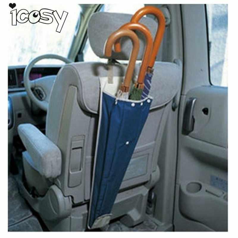Портативный складной автомобиль Автоматическая спинка для сиденья водонепроницаемый футляр для зонта чехол для органайзера чехол длинный мешок сумка автомобильные аксессуары A21D15