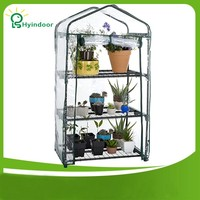 Garden Supplies Agriculture Greenhouse Sunroom Garden PVC Mini Greenhouses