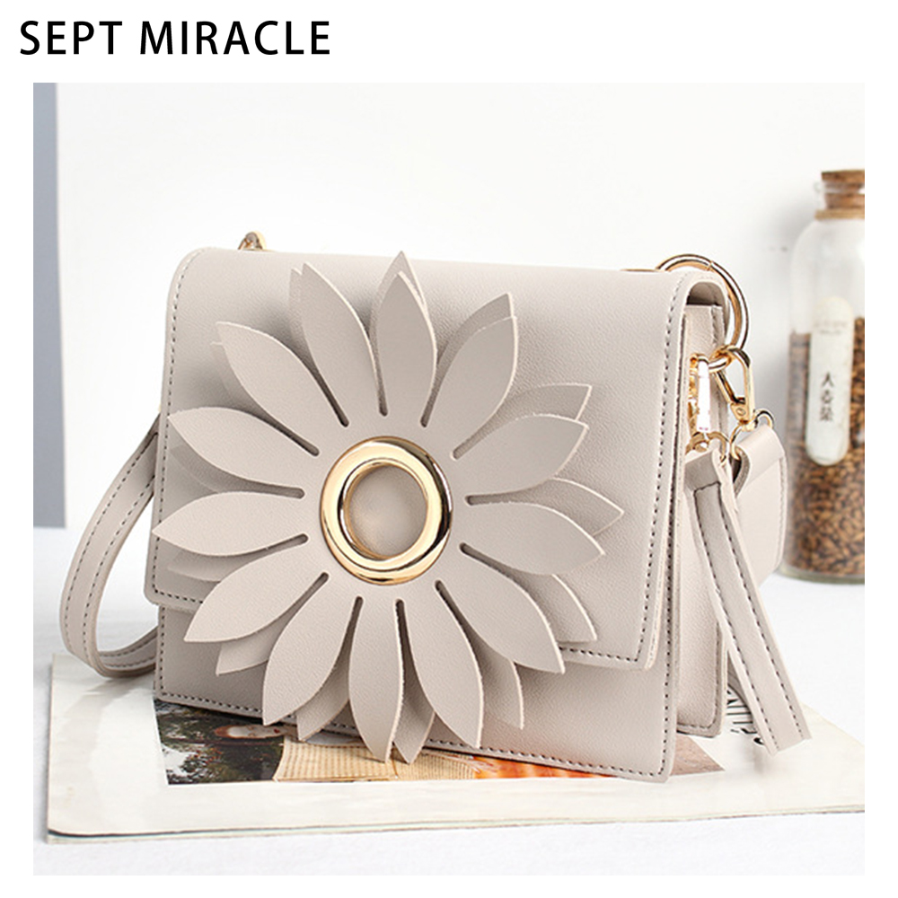 Crossbody Bag Women PU Leather Flowers Envelope Shoulder Bags Female Fashion Mini Messenger Bag Vintage Handbag for Ladies Girls women messenger bags 2016 vintage stone line women bags casual leather envelope crossbody shoulder bags