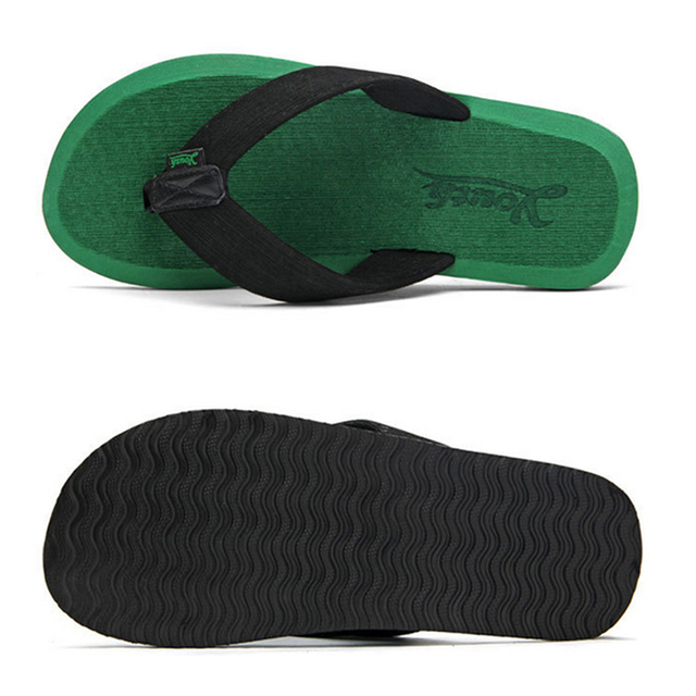 cfc9958a1db119 2015 New Arrival Men s Urban Beach Flip Flops Summer Flat Slippers Casual  Sandals with Rubber Sole US Size 7-9