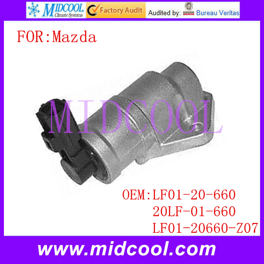 New Auto IAC Idle Air Control Valve Use OE NO. LF01-20-660 , 20LF-01-660 , LF01-20660-Z07 For Mazda 6