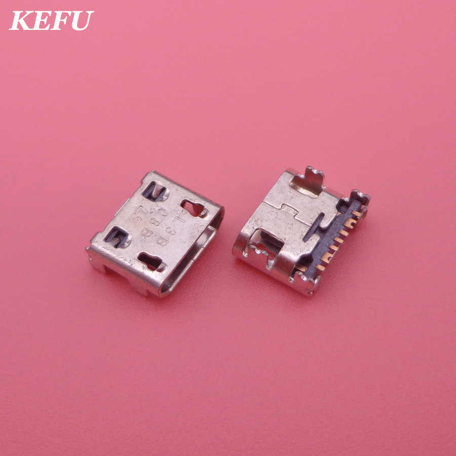 10pcs for samsung Galaxy Trend II,S5280,S5282 Fame,S7262,S7710 Cell Phone Micro mini usb Charge jack socket Connector