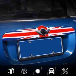 Unión Jack ABS tapa trasera del maletero moldura decoración de embellecedor cubierta Trim para Mini Cooper F60 F55 F56 F57 Countryman accesorios de coche