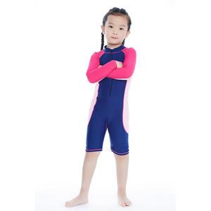 d4aaab0d15b57 2018 Boys Girls Swimwear For Kids Trunks Patchwork 2XL One Piece Swimsuit
