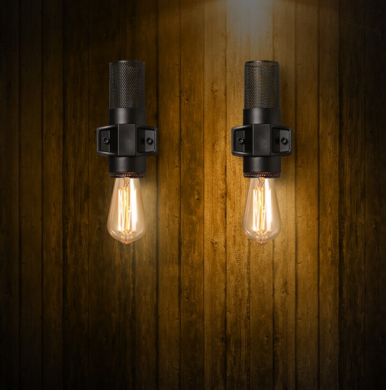 Nordic Loft Style Industrial Edison Vintage Wall Lamp Bedside Wall Light Fixtures For Living Room Wall Sconce Indoor Lighting стоимость
