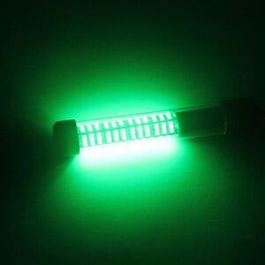 Image 5 - 1 Pcs LED Black Shell Underwater Fishing Lamp Night Fishing Light Dock Decorative Light 12V