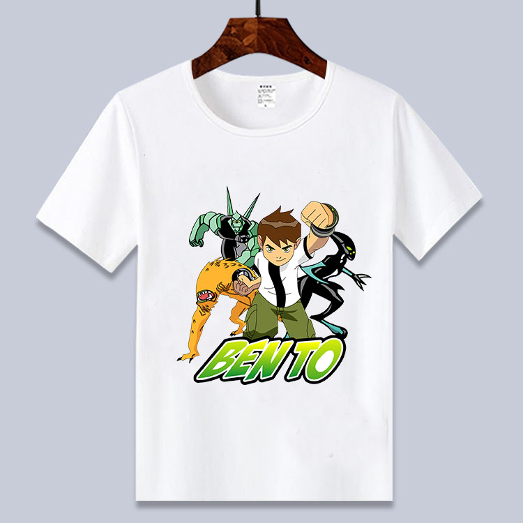 3 Ben 10 12 Ano Novo Verao Camisa Dos Desenhos Animados T Para