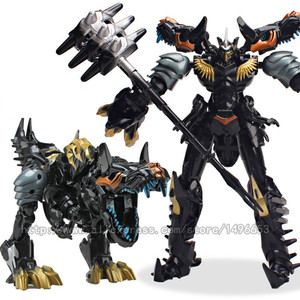 Image 3 - weijiang Oversize 21 27CM Anime Transformation Dinosaur Kids Toys Dragon Robot  Alloy Action Figures Brinquedos Classic Toys Boy