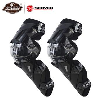 Scoyco Motorcycle Knee Pad Men Knee Protector Protective Gears Knee Gurad Protector Equipment Gear Motocross Guards Racing Moto